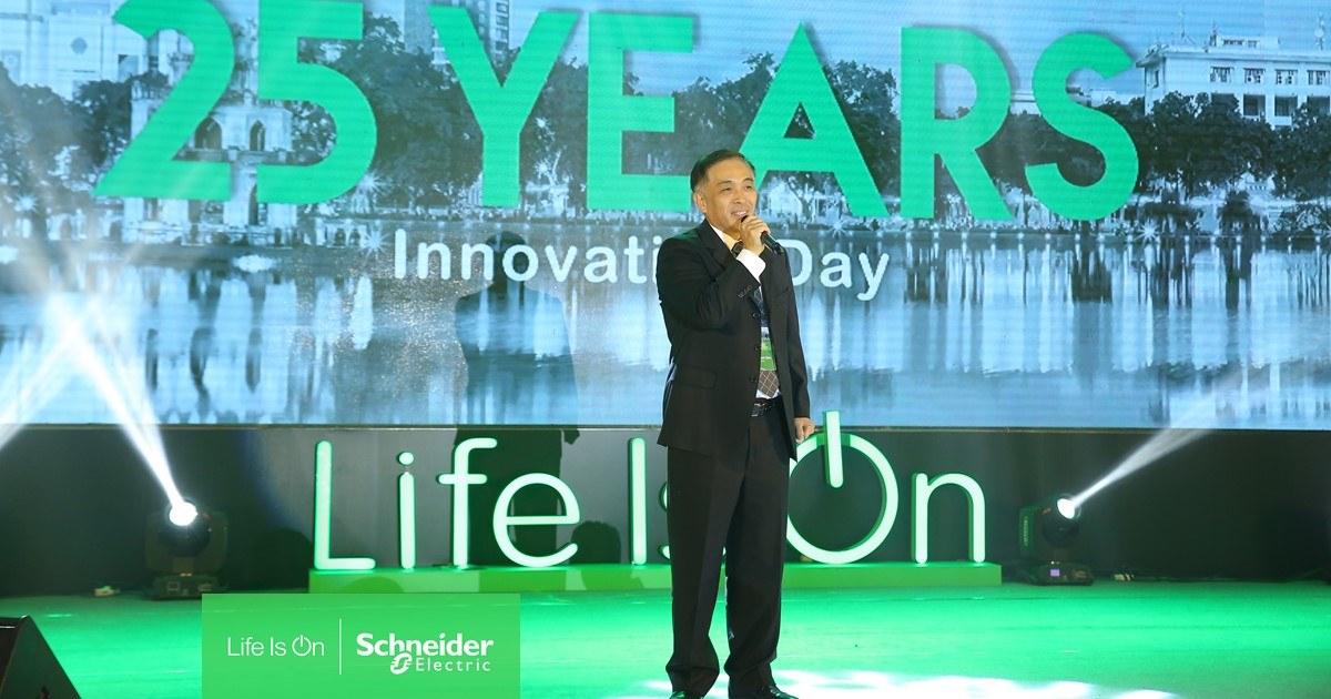 Hội nghị Đổi mới và Sáng tạo kỷ niệm 25 năm thành lập Schneider Electric Việt Nam